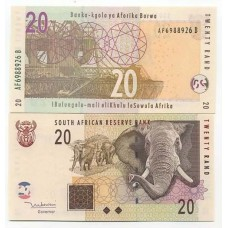 P.129 Afrique Du Sud - Billet de 20 Rand