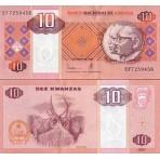 P.145 Angola - Billet de 10 Kwanzas