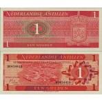 P.20 Antilles Néerlandaises - Billet de 1 Gulden