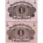P.58 Allemagne - Billet de 1 Mark