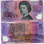 P.51 Australie - Billet de 5 Dollars