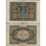 P .69 Allemagne - Bilet de 100 Mark
