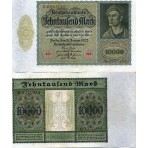 P.71 Allemagne - Billet de 10 000 Mark