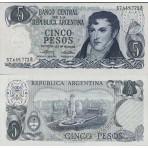 P.294 Argentine - Billet de 5 Pesos