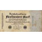 P.74 Allemagne - Billet de 500 Mark