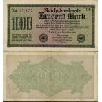 P.76 Allemagne - Bllet de 1000 Mark