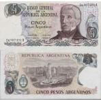 P.312 Argentine - Billet de 5 Pesos