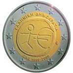 Grèce 2009 -  2 euro commémorative 10 ans de la zone euro