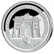 Belgique 2014 - 10 euro Argent 1ère Guerre Mondiale