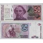 P.326 Argentine - Billet de 50 Australes