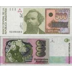 P.328 Argentine - Billet de 500 Australes