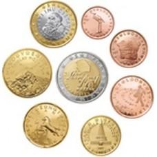 Slovenie 2007 : serie de 1 cent a 2 euros