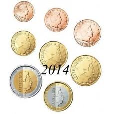 Luxembourg 2014 - Série complète euro neuve