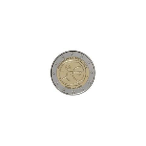 ALLEMAGNE 2009 - 10 ANS DE LA ZONE EURO