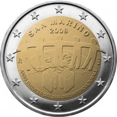 Saint Marin 2008 - 2 euro commémorative