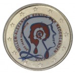 Pays-Bas 2013 - 2 euro commémorative Anniversaire de la royauté en couleur