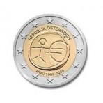 Autriche 2009 -  2 euro commémorative 10 ans de la zone euro