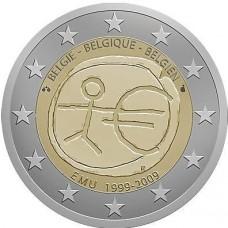 BELGIQUE 2009 - 10 ANS DE LA ZONE EURO