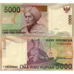 P.142 Indonesie - Billet de 5000 Rupiah