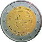 Chypre 2009 -  2 euro commémorative 10 ans de la zone euro