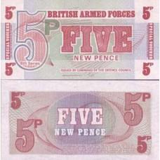 P.47 Gb Armee - Billet de 5 New Pence