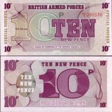 P.48 Gb Armee - Billet de 10 New Pence