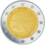 Espagne 2009 - 2 euro commémorative 10 ans de la zone euro