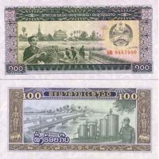 P.30 Laos - Billet de 100 Kip