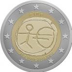 Irlande 2009 - 2 euro commémorative 10 ans de la zone euro