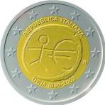 Italie 2009 - 2 euro commémorative 10 ans de la zone euro