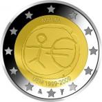 Malte 2009 - 2 euro commémorative 10 ans de la zone euro