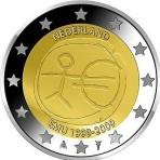 Pays-Bas 2009 - 2 euro commémorative 10 ans de la zone euro