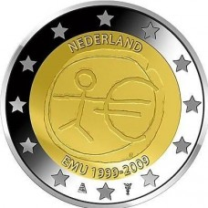 PAYS-BAS 2009 - 10 ANS DE LA ZONE EURO