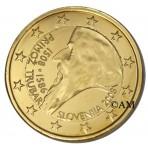 Slovénie 2008 - 2 euro commémorative dorée à l'or fin 24 carats