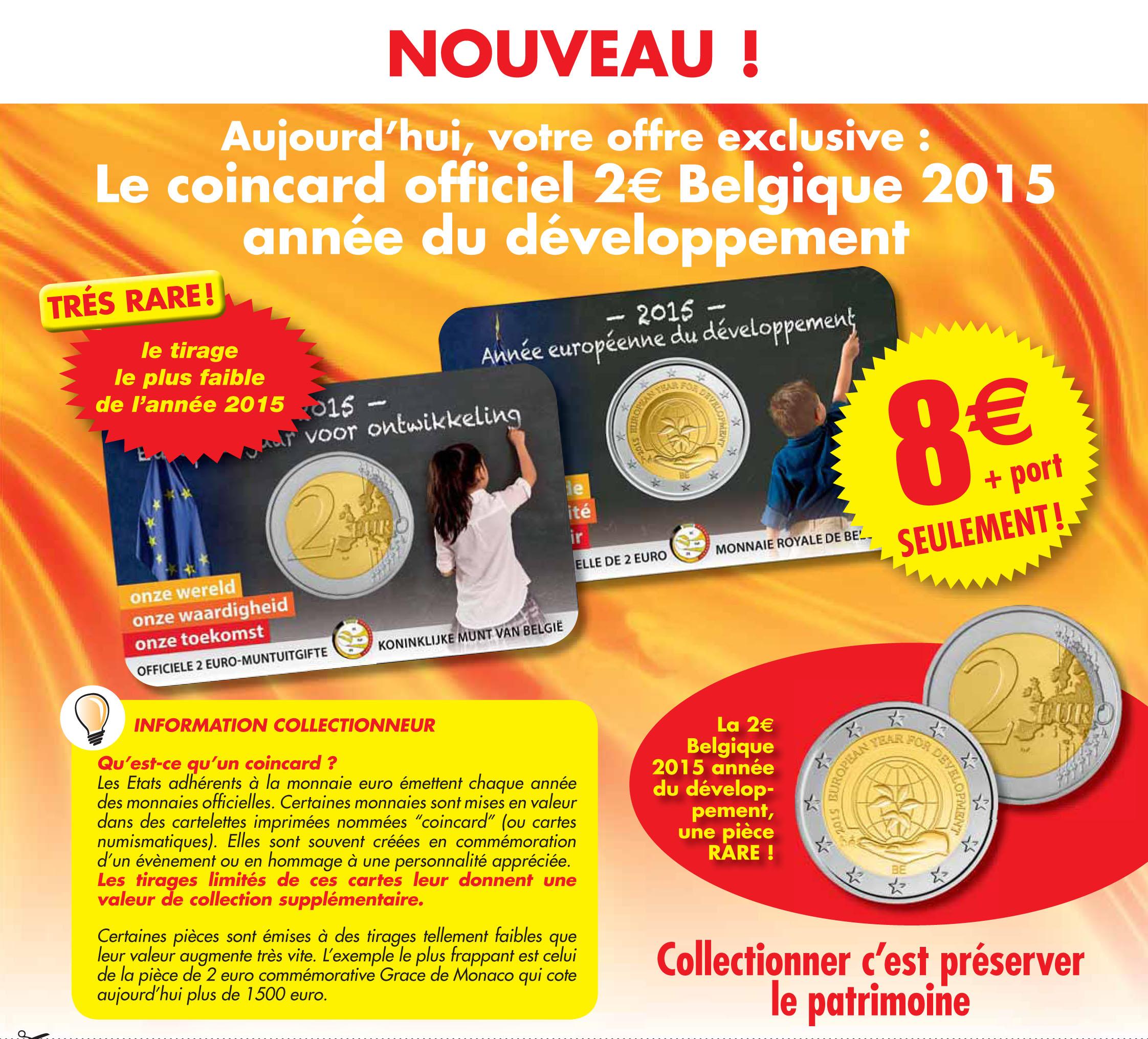Votre coincard Belgique 2015